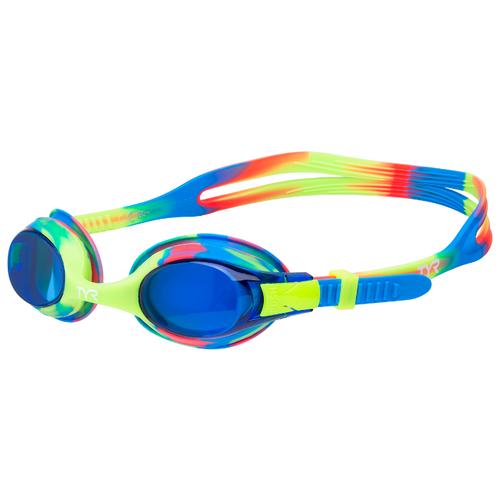 Очки для плавания Tyr Swimple Tie Dye LGSWTD, голубой