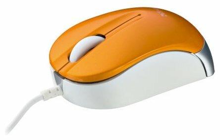 Мышь Trust Nanou Retractable Micro Mouse Orange USB