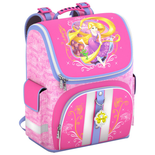 Купить ErichKrause Ранец Disney Королевский бал Light 42300 розовый, Рюкзаки, ранцы
