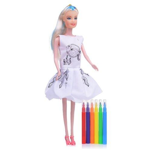 Кукла Oubaoloon с фломастерами, 28 см, 6609-G
