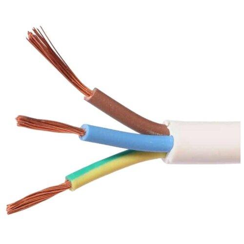 Провод Пан Электрик ПВС 3х2.5 (50 м) белыйКабели и провода<br>