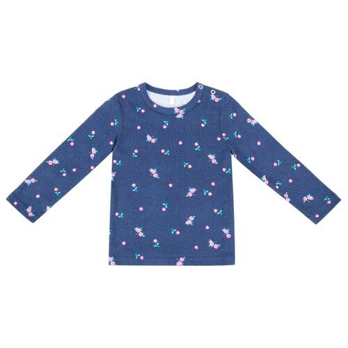 Купить Лонгслив Leader Kids размер 92, темно-синий, Футболки и рубашки