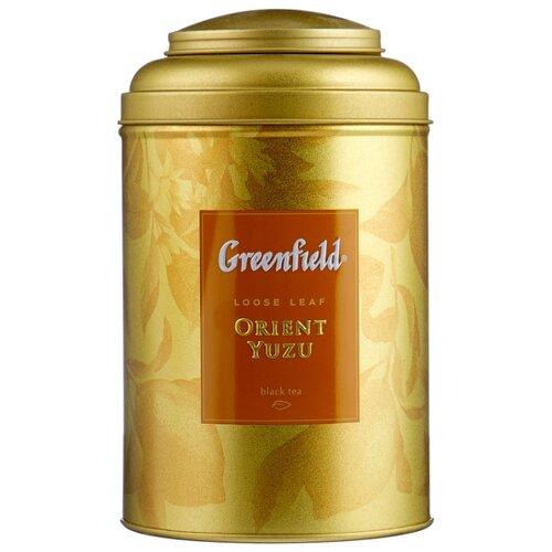 Чай черный Greenfield Orient yuzu, 100 г greenfield english edition черный листовой чай 100 г