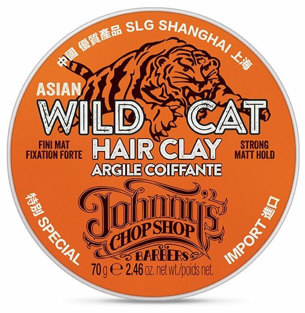 JOHNNY'S CHOP SHOP Глина Wild Cat Hair