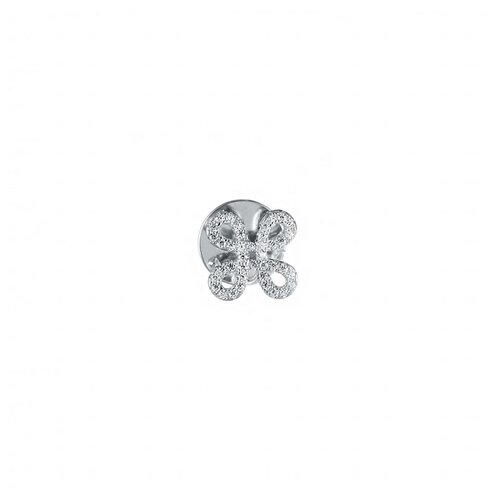 ELEMENT47 Брошь-значок из серебра 925 пробы SO-B0156_BR_001_WG