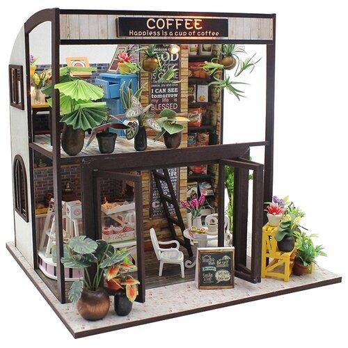 Сборная модель Hobby Day румбокс Coffee house (M027), Сборные модели  - купить со скидкой