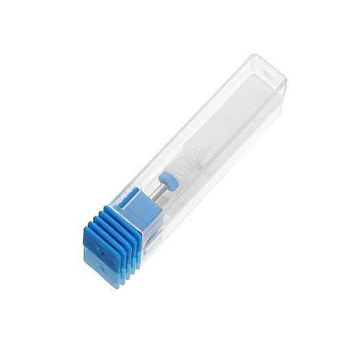 Фото - Фреза для педикюра KrasotkaPro керамическая Конус усеченный D=3,5-6 мм, синяя (87370), белый irisk фреза керамическая цилиндр оранжевая d 6 мм
