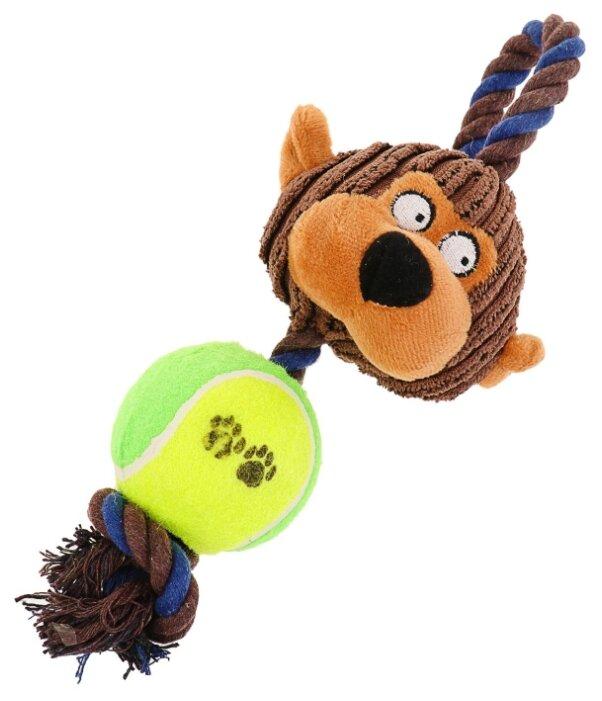 Игрушка для собак Пижон 3 в 1 Обезьяна (3595201)