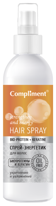 Compliment Bio-Protein+Keratin Спрей-энергетик для волос