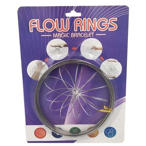 Браслет Junfa toys Flow rings серебристый