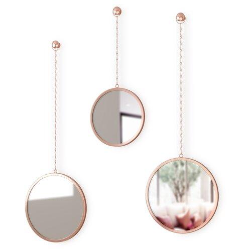 Зеркала декоративные Dima круглые медь umbra комплект зеркал dima 3 шт