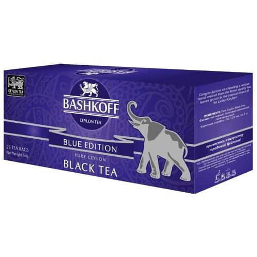 Чай черный Bashkoff Blue edition в пакетиках, 25 шт.Чай<br>