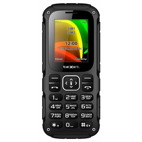 Телефон teXet TM-504R черный/красный телефон texet tm 204 красный