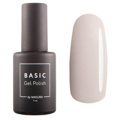 Купить Гель-лак для ногтей Masura Basic, 11 мл, Модный нюд