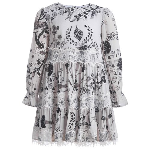 Платье Gulliver размер 104, серый