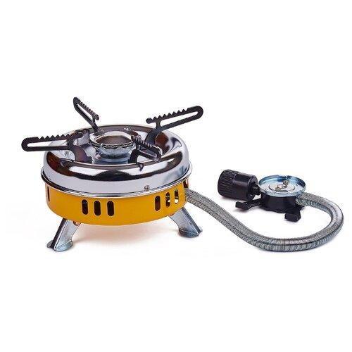 Горелка TOURIST MINI-2000 TM-200 серебристый/желтый плита tourist buran tm 080