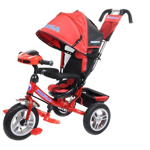 Фото - Трехколесный велосипед Formula FA3 Formula 3 красный полесье велосипед трехколесный дидактик 3 46598 цвет в ассортименте