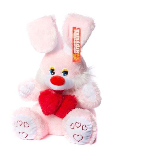 цена на Мягкая игрушка Нижегородская игрушка Праздничный Заяц