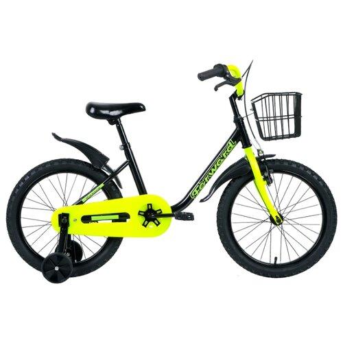 Детский велосипед FORWARD Barrio 18 (2019) черный (требует финальной сборки) el barrio úbeda