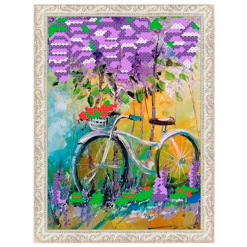 Купить Color Kit Картина из пайеток Под сиренью (CME001), Картины из пайеток