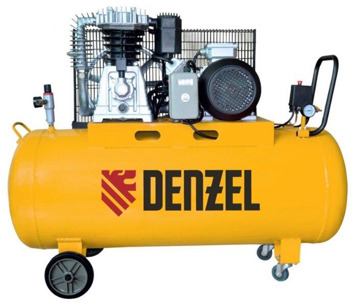 Компрессор масляный Denzel DR 5500/200, 200 л, 5.5 кВт
