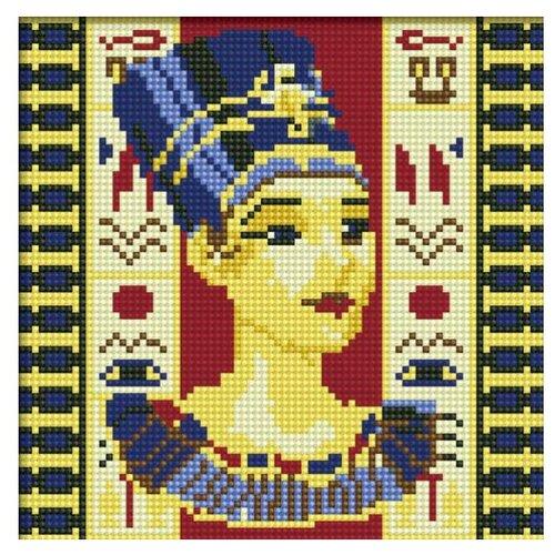 Мозаичная картина на подрамнике Нефертити