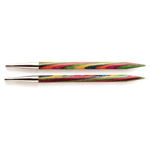 Спицы Knit Pro съемные Symfonie 20425, диаметр 4.5 мм, длина 10 см, многоцветный  - купить со скидкой