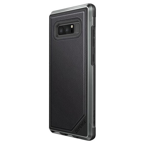 Чехол X-Doria Defense Lux для Samsung Galaxy Note 8 черныйЧехлы<br>