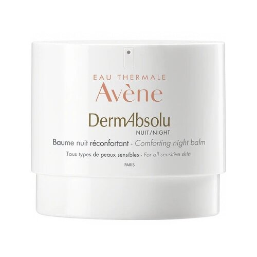 Бальзам Avene DermAbsolu Comforting Night Balm моделирующий ночной для лица, шеи и декольте, 40 мл avene ночной регенирирующий бальзам от глубоких морщин 30мл avene physiolift