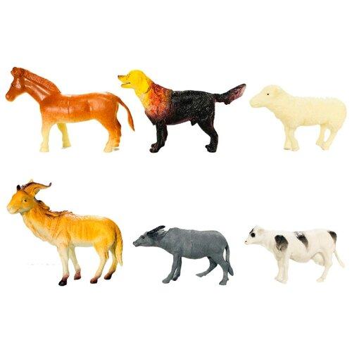 Фото - Набор фигурок домашние животные 6 шт набор фигурок домашние животные 6 шт