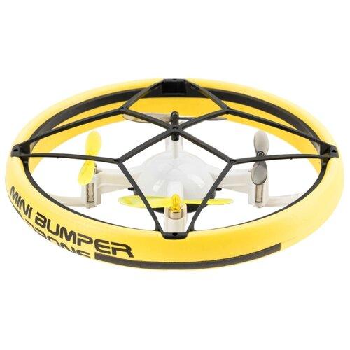 Квадрокоптер Silverlit Bumper Drone Mini желтыйКвадрокоптеры<br>
