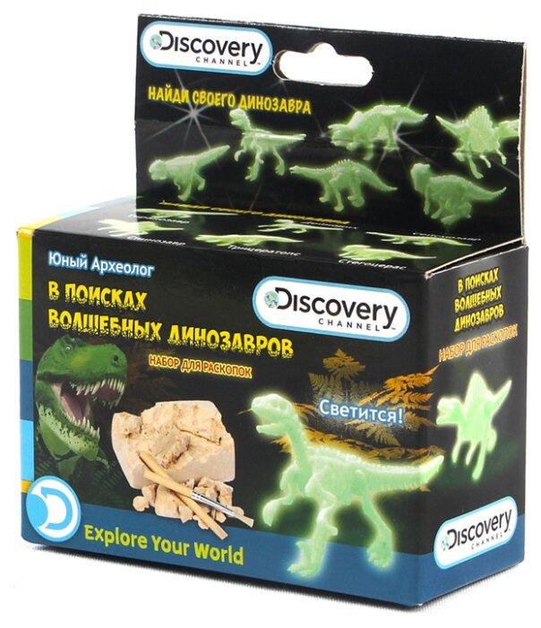 Набор для раскопок Город Игр Discovery Юный археолог в поисках волшебных динозавров