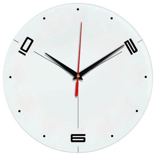 Часы настенные кварцевые Идеал 955 белый виши идеал солей 30