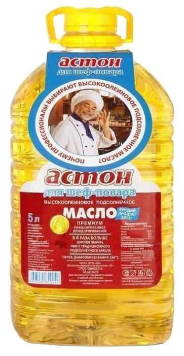 Масло подсолнечное Астон высокоолеиновое, 5л