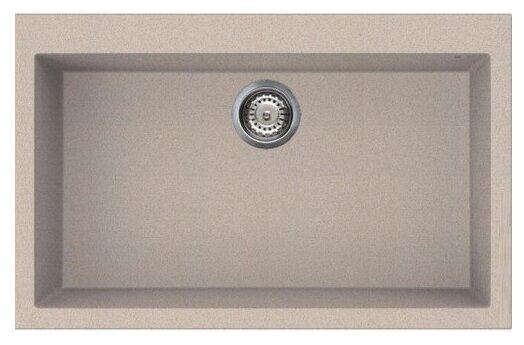 Врезная кухонная мойка smeg VZ79 79х50см искусственный гранит