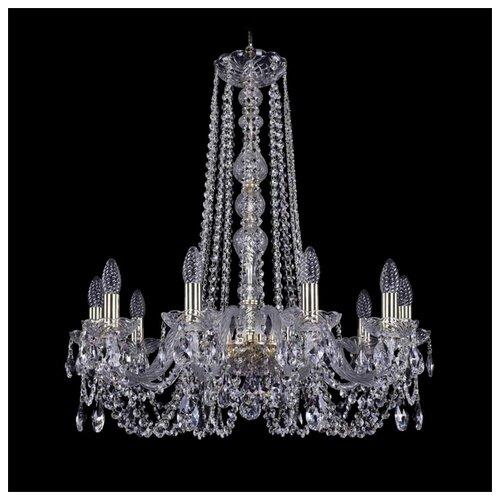 Люстра Bohemia Ivele Crystal 1402 1402/10/240/h-73/G, 400 Вт bohemia ivele crystal 1402 1402 16 400 g 640 вт