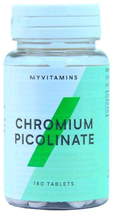 Купить Пиколинат хрома MyProtein Chromium Picolinate 200 mcg 180 таб. по низкой цене с доставкой из Яндекс.Маркета
