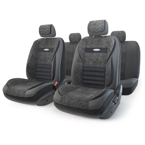 цена на Комплект чехлов AUTOPROFI MLT-1105GV черный