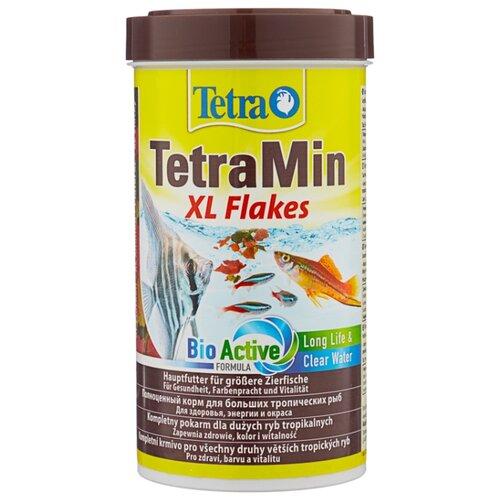 Сухой корм для рыб Tetra TetraMin XL Flakes 500 мл 80 г сухой корм для рыб tetra tetramin flakes 500 мл 100 г