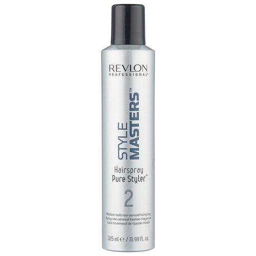 Фото - Revlon Professional Неаэрозольный лак для волос Style masters Pure styler 2, средняя фиксация, 325 мл ollin professional лак для волос style hairspray средняя фиксация 450 мл