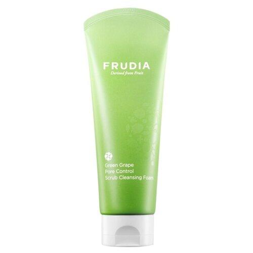 Frudia Очищающая пенка Green Grape Pore Control, 145 мл пенка frudia citrus brightening micro cleansing foam объем 145 мл