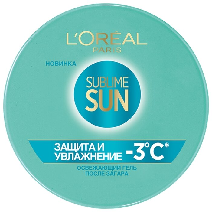 L'Oreal Paris L Oreal Paris Sublime Sun освежающий гель после загара для лица и тела Защита и Увлажнение