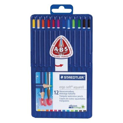 Купить Staedtler Карандаши цветные акварельные Ergosoft, 12 цветов (156 SB12), Цветные карандаши