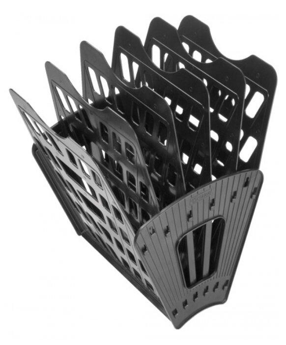 Лоток веерный для бумаги СТАММ ЛТ96 (5 отд.)