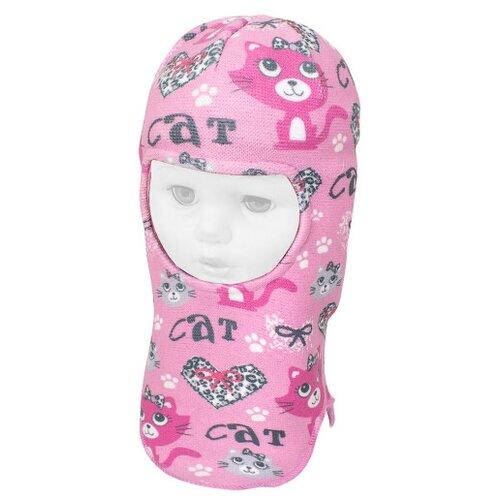 Купить Шапка-шлем Prikinder размер 46-48, розовый, Головные уборы