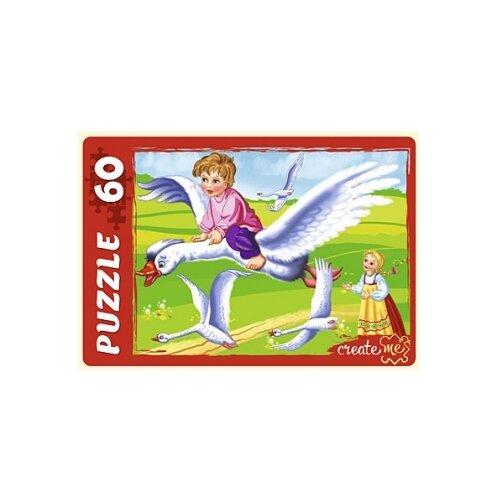 Купить Пазл Рыжий кот Гуси-лебеди (У60-7201), 60 дет., Пазлы