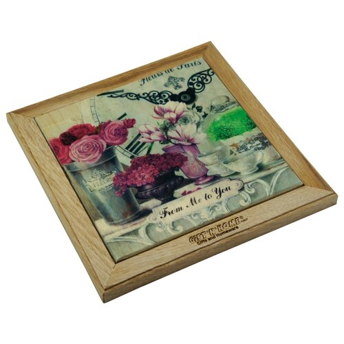 Подставка под горячее Gift'n'Home (бук/дуб) 20x20 см подставка под горячее rosenberg 16 5 см