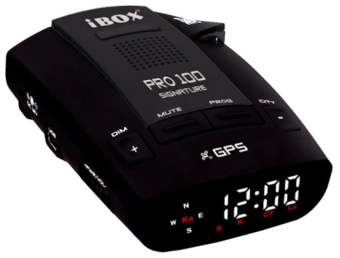 Радар-детектор iBOX Pro 100 Signature, черный