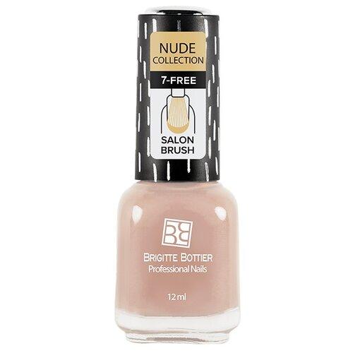 Лак Brigitte Bottier Nude Collection 12 мл. персиково-бежевыйЛак для ногтей<br>