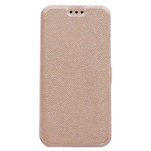 Чехол Gosso UltraSlim Book для Huawei P20 Lite золотой чехол для сотового телефона gosso cases для huawei p20 lite soft touch 186905 темно синий